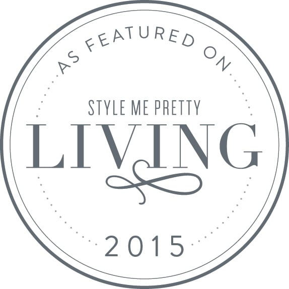 Featured in Style Me Pretty Living
