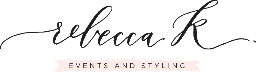 Rebecca K Events and Styling logo