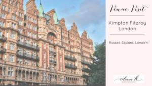 Rebecca K Events - London Wedding Planner - Kimpton Fitzroy