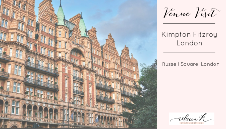 Rebecca K Events - London Wedding Planner - Kimpton Fitzroy