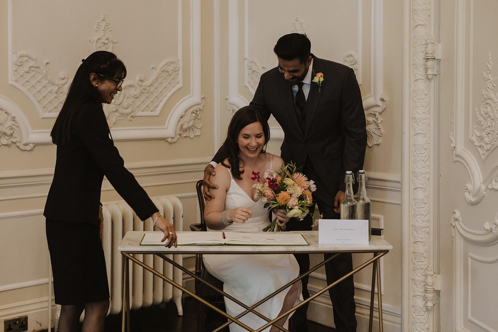 London Micro Wedding